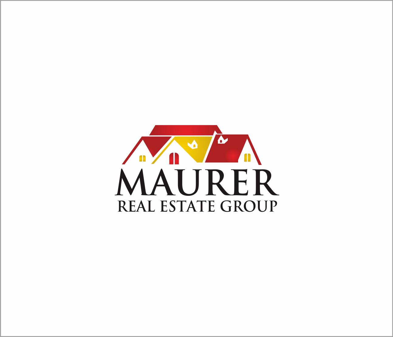Logo Design by Armada Jamaluddin - Entry No. 86 in the Logo Design Contest Maurer real estate group Logo Design.