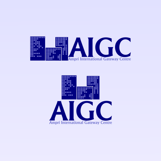 Logo Design by andrei_pele - Entry No. 88 in the Logo Design Contest Ampri International Gateway Centre (AIGC).