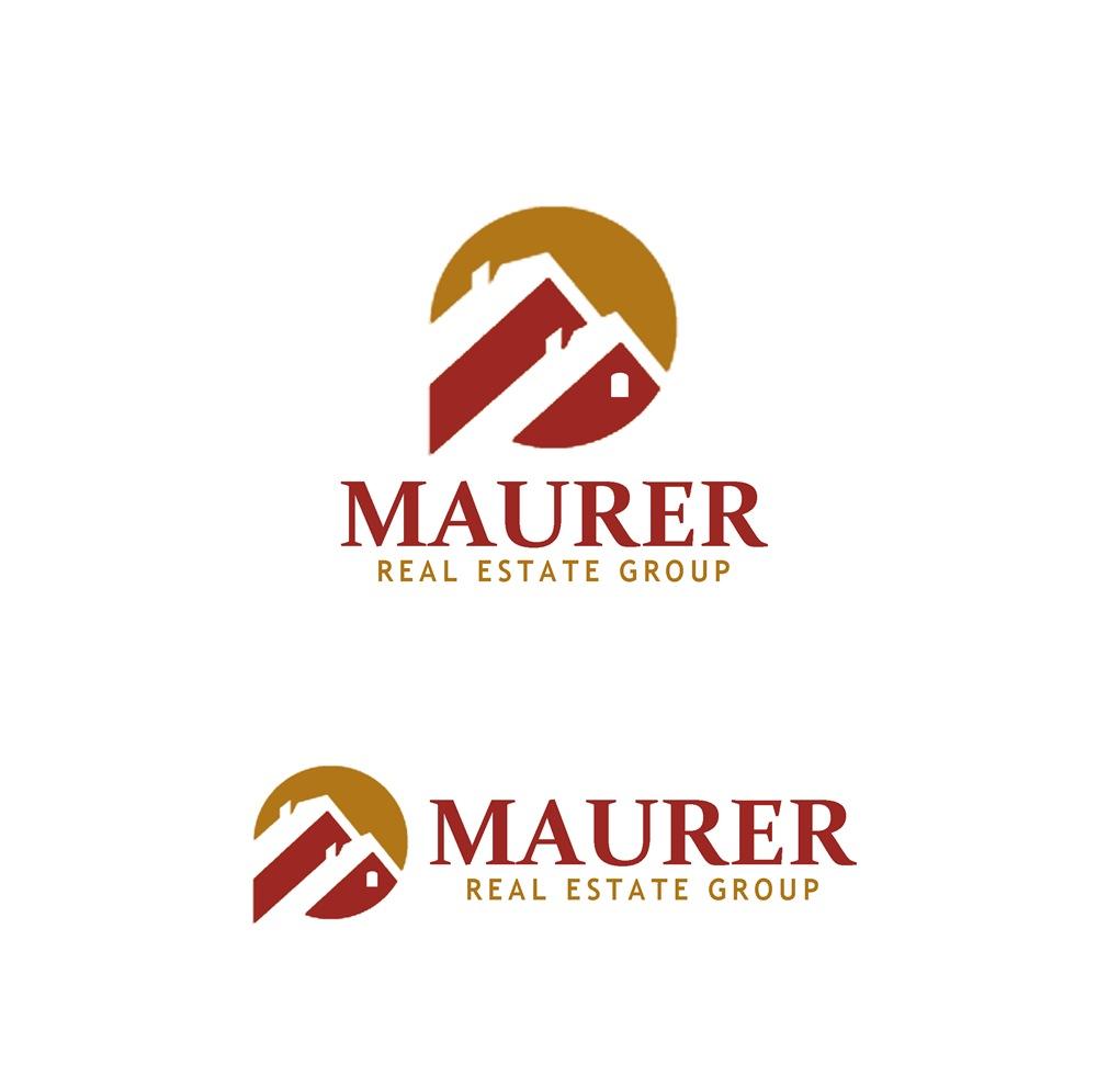 Logo Design by Fita Tiara Sani - Entry No. 92 in the Logo Design Contest Maurer real estate group Logo Design.