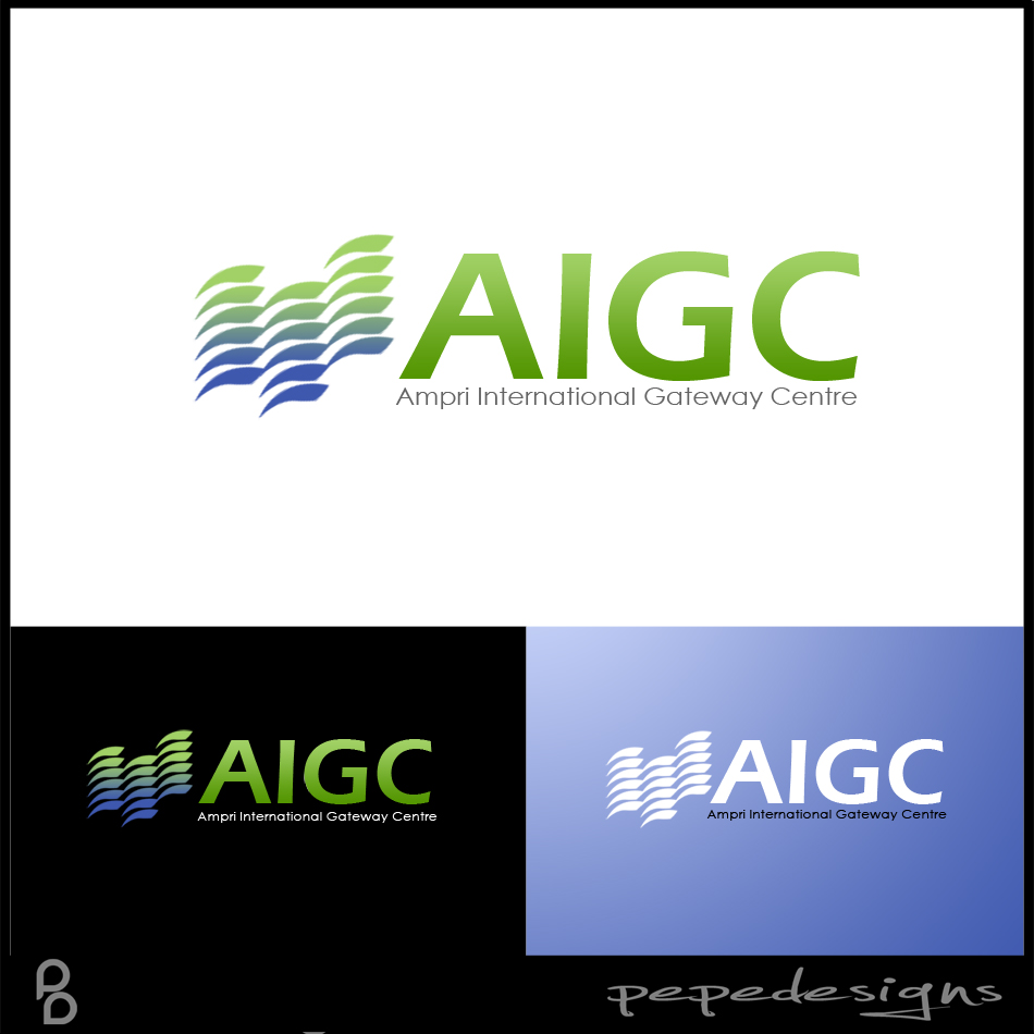 Logo Design by Private User - Entry No. 89 in the Logo Design Contest Ampri International Gateway Centre (AIGC).