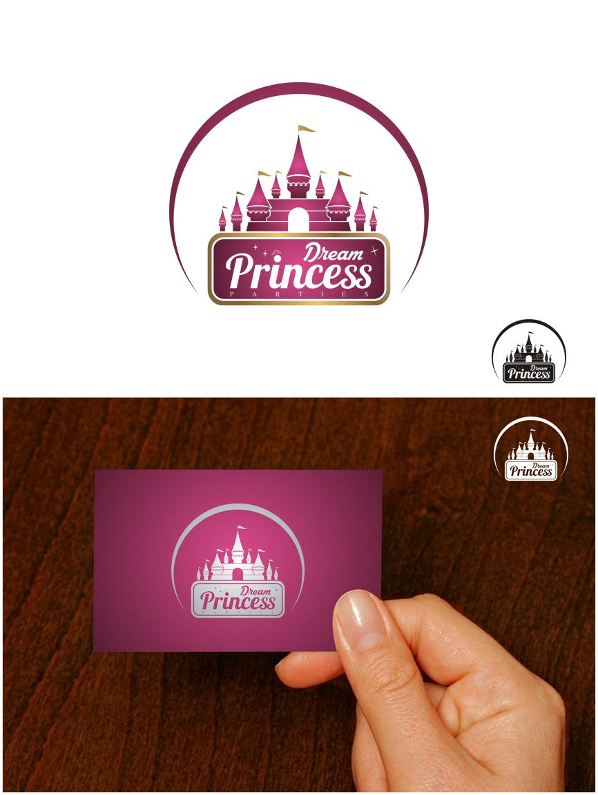 Logo Design by RasYa Muhammad Athaya - Entry No. 28 in the Logo Design Contest Creative Logo Design for Dream Princess Parties.