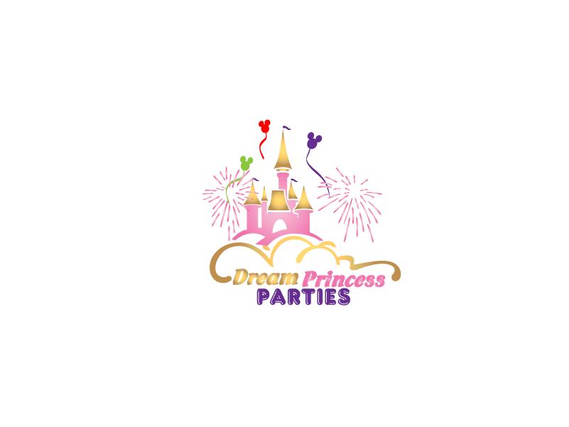 Logo Design by Private User - Entry No. 31 in the Logo Design Contest Creative Logo Design for Dream Princess Parties.