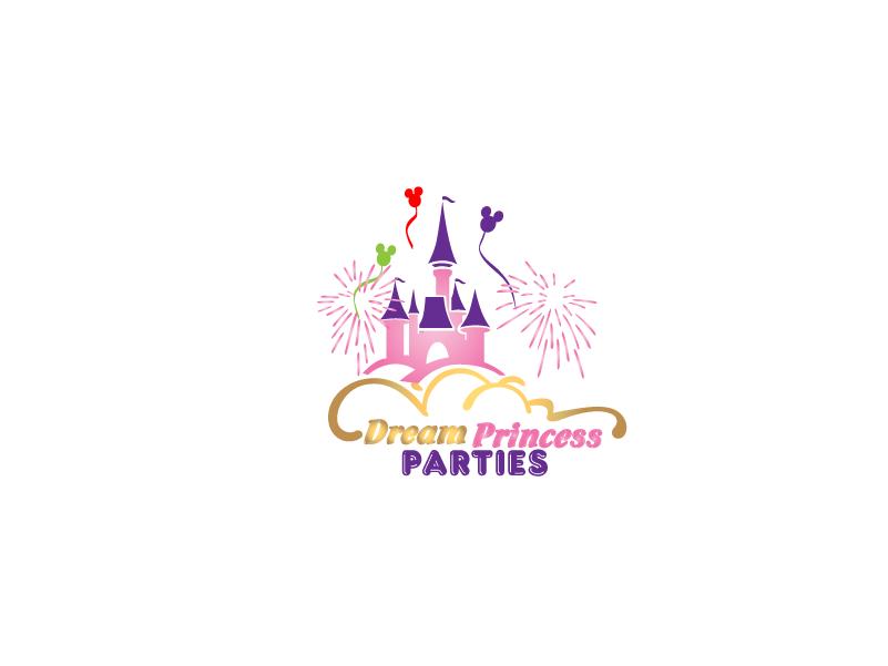 Logo Design by Private User - Entry No. 32 in the Logo Design Contest Creative Logo Design for Dream Princess Parties.