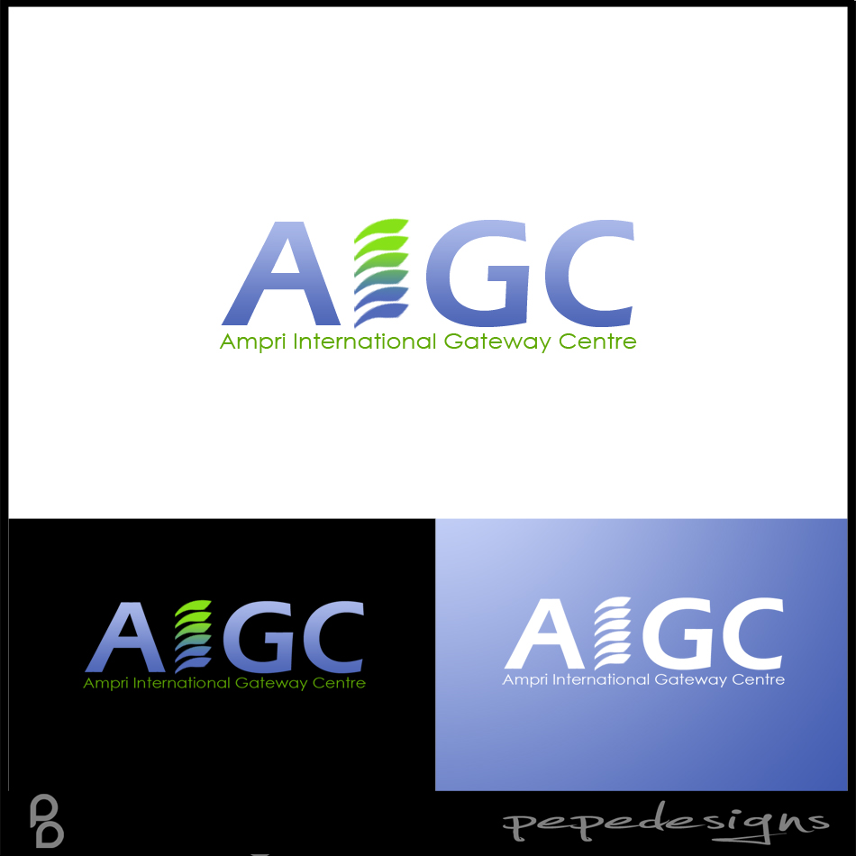Logo Design by Private User - Entry No. 90 in the Logo Design Contest Ampri International Gateway Centre (AIGC).