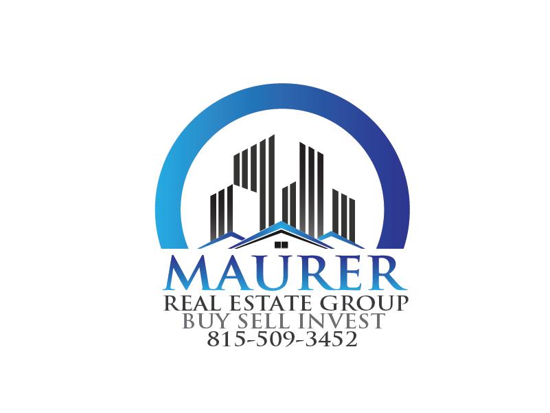 Logo Design by Private User - Entry No. 106 in the Logo Design Contest Maurer real estate group Logo Design.