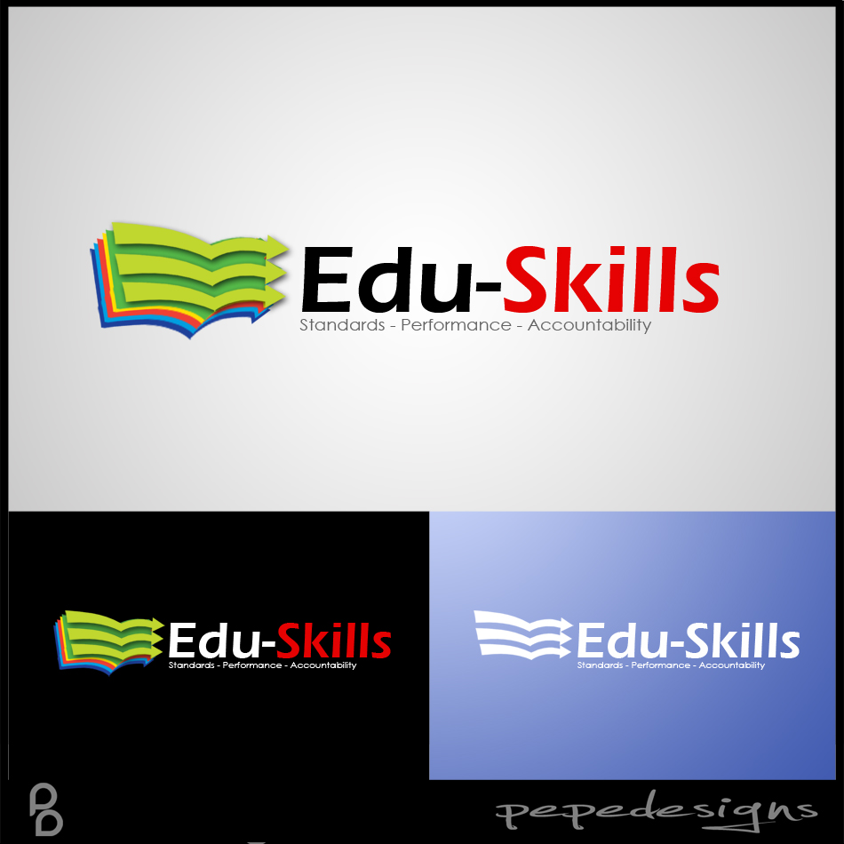 Logo Design by Joseph Neal Lacatan - Entry No. 131 in the Logo Design Contest Edu-Skills.