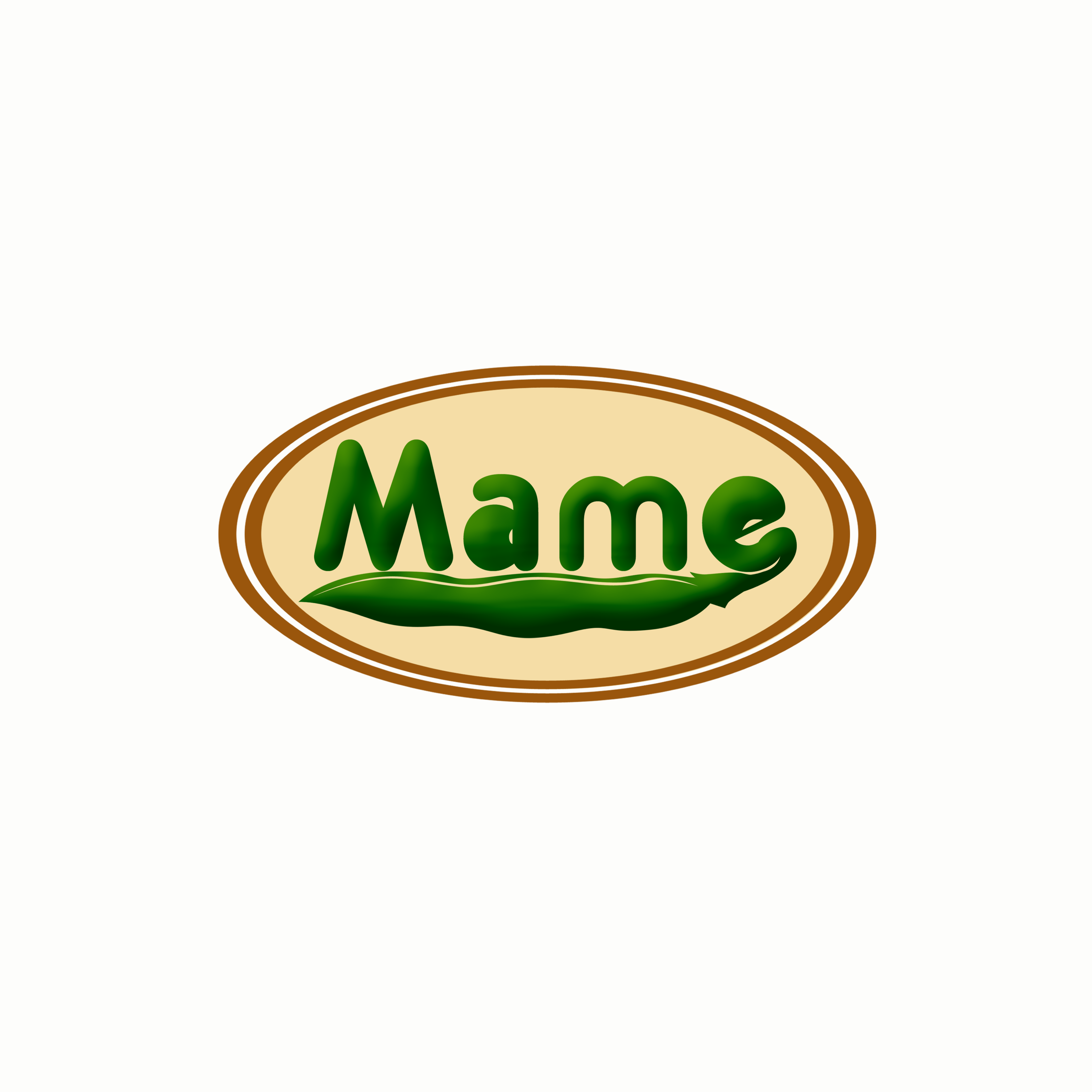 Logo Design by Allan Esclamado - Entry No. 13 in the Logo Design Contest Captivating Logo Design for Mame.