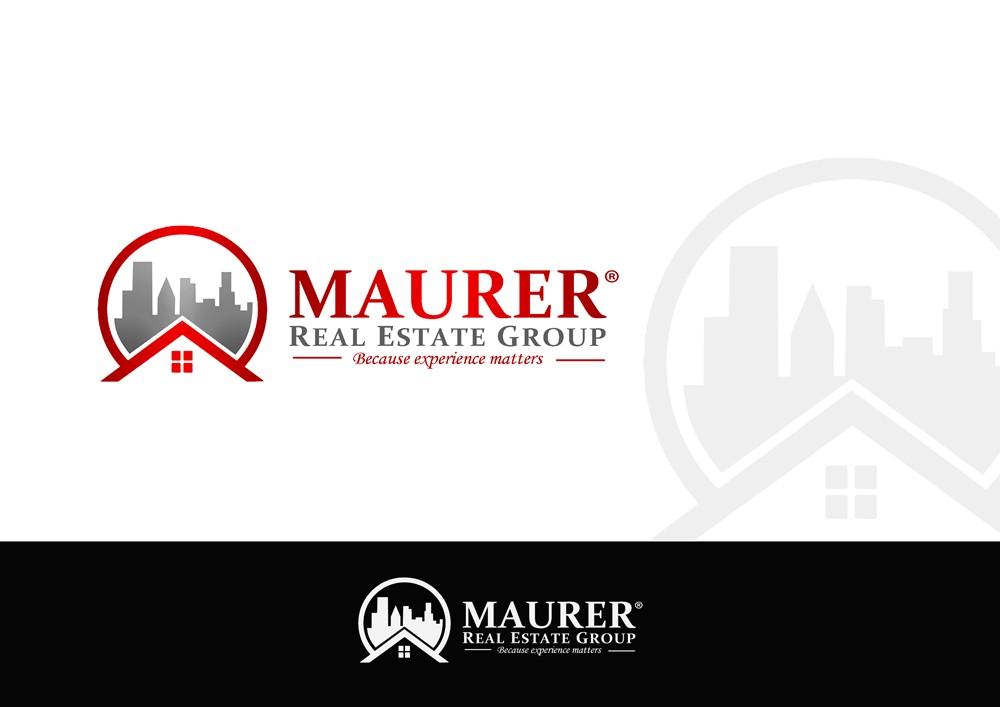 Logo Design by Fita Tiara Sani - Entry No. 113 in the Logo Design Contest Maurer real estate group Logo Design.