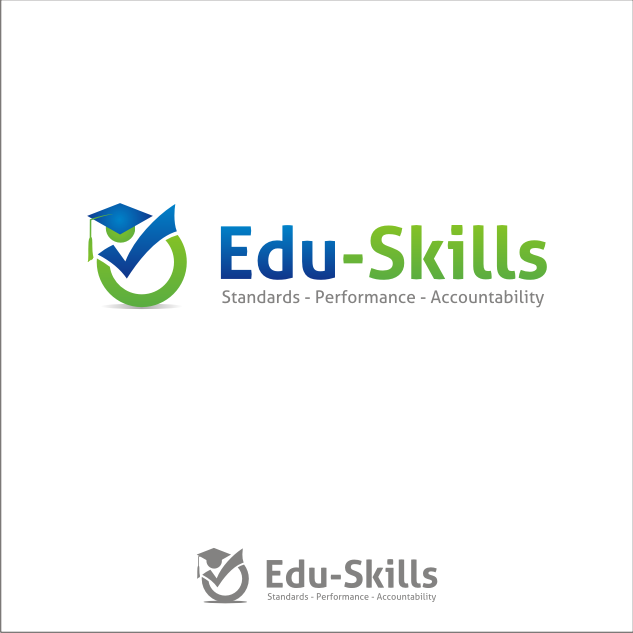 Logo Design by key - Entry No. 133 in the Logo Design Contest Edu-Skills.