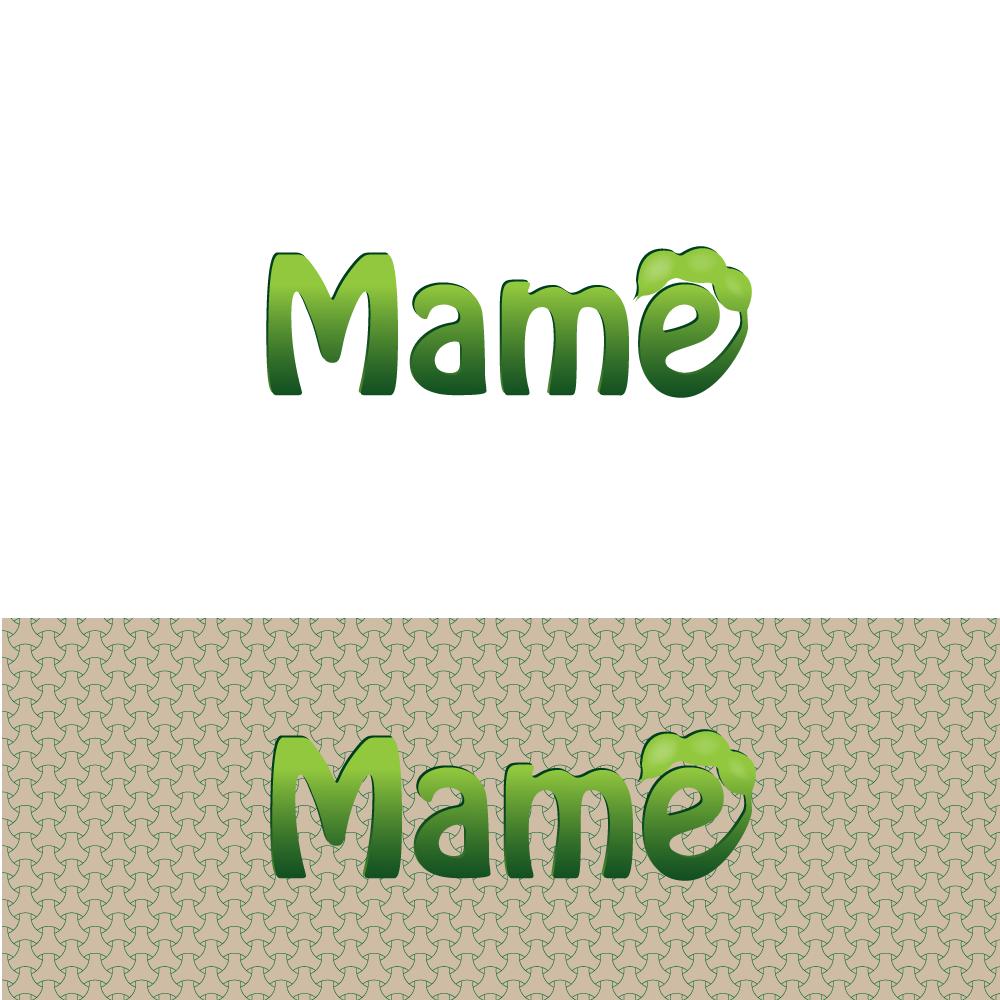 Logo Design by rockin - Entry No. 26 in the Logo Design Contest Captivating Logo Design for Mame.
