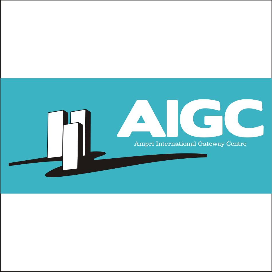 Logo Design by vector.five - Entry No. 95 in the Logo Design Contest Ampri International Gateway Centre (AIGC).