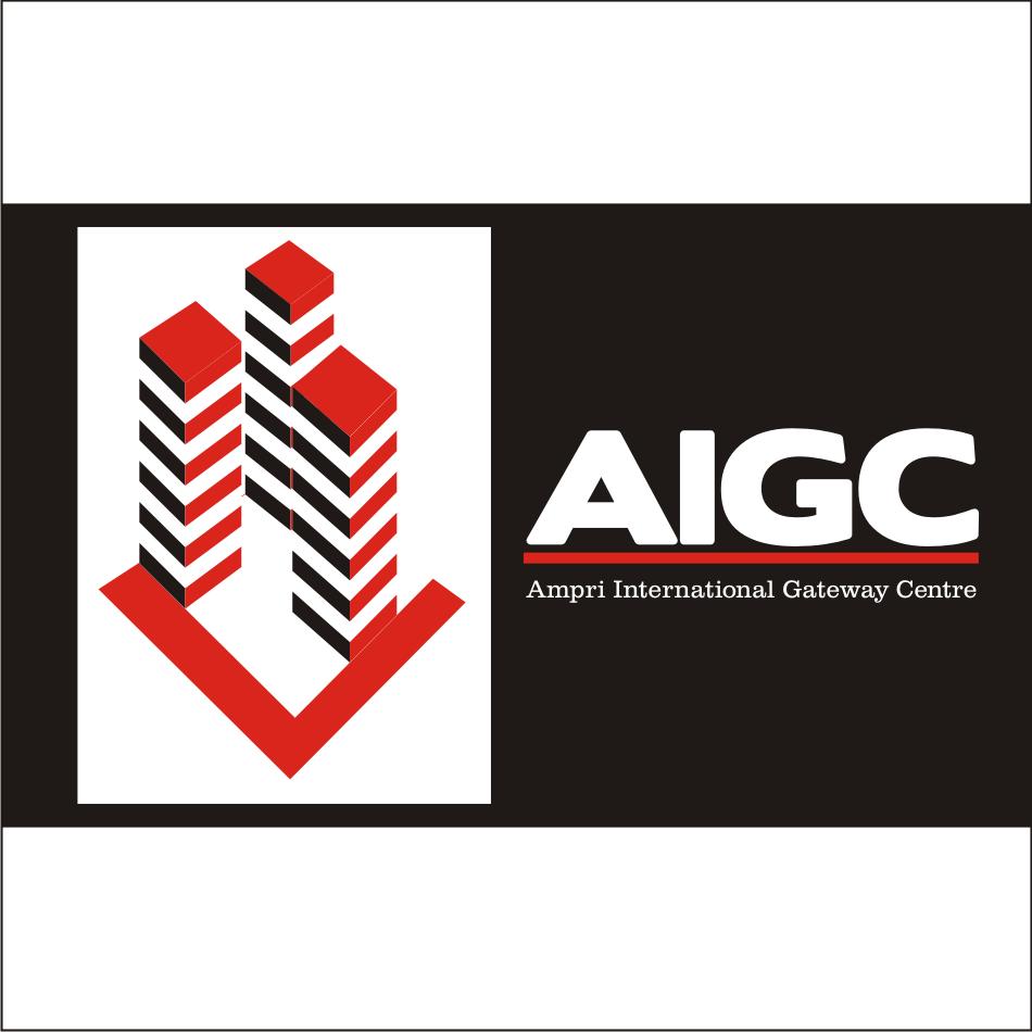 Logo Design by vector.five - Entry No. 96 in the Logo Design Contest Ampri International Gateway Centre (AIGC).