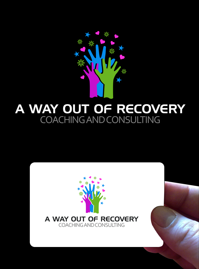Logo Design by Robert Turla - Entry No. 20 in the Logo Design Contest Inspiring Logo Design for A Way Out Recovery Coaching & Consulting.