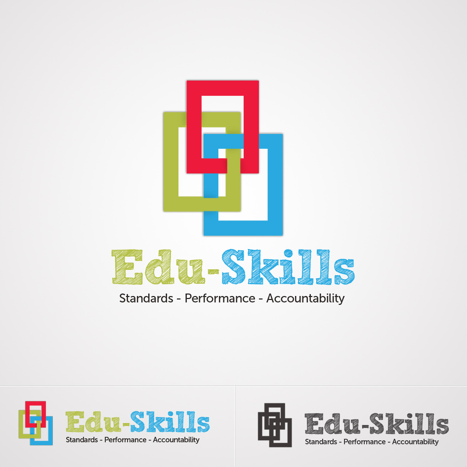 Logo Design by aerodynamics - Entry No. 138 in the Logo Design Contest Edu-Skills.
