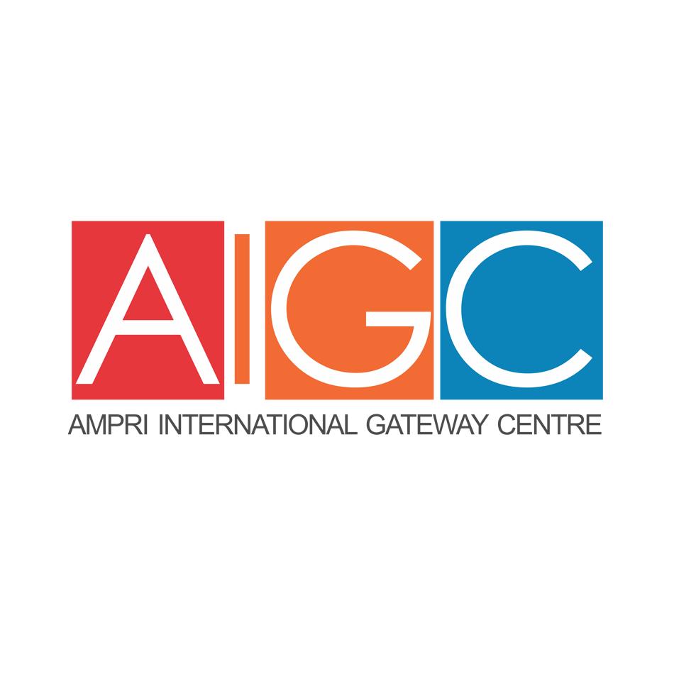 Logo Design by hammet77 - Entry No. 103 in the Logo Design Contest Ampri International Gateway Centre (AIGC).
