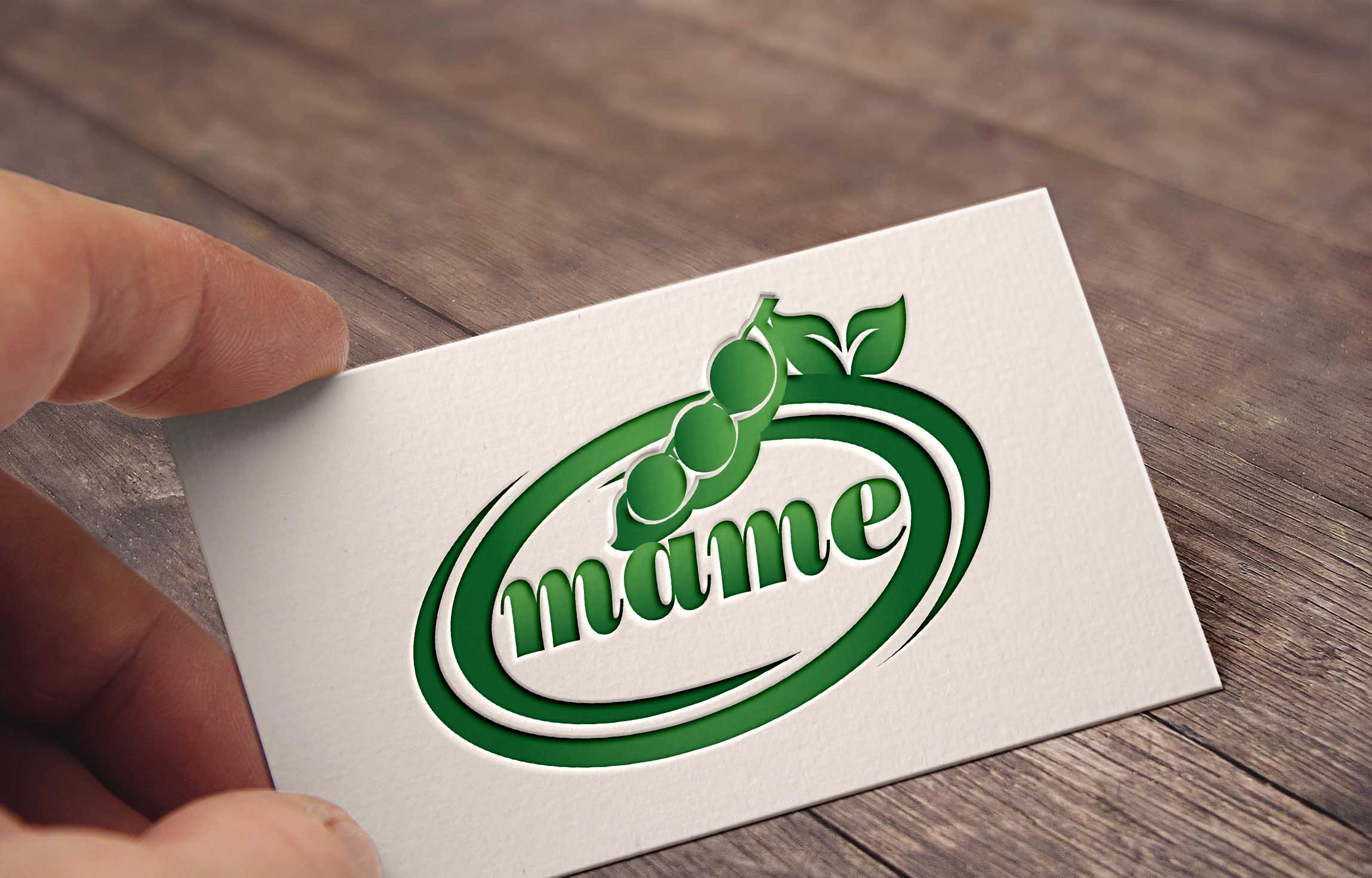 Logo Design by Private User - Entry No. 55 in the Logo Design Contest Captivating Logo Design for Mame.