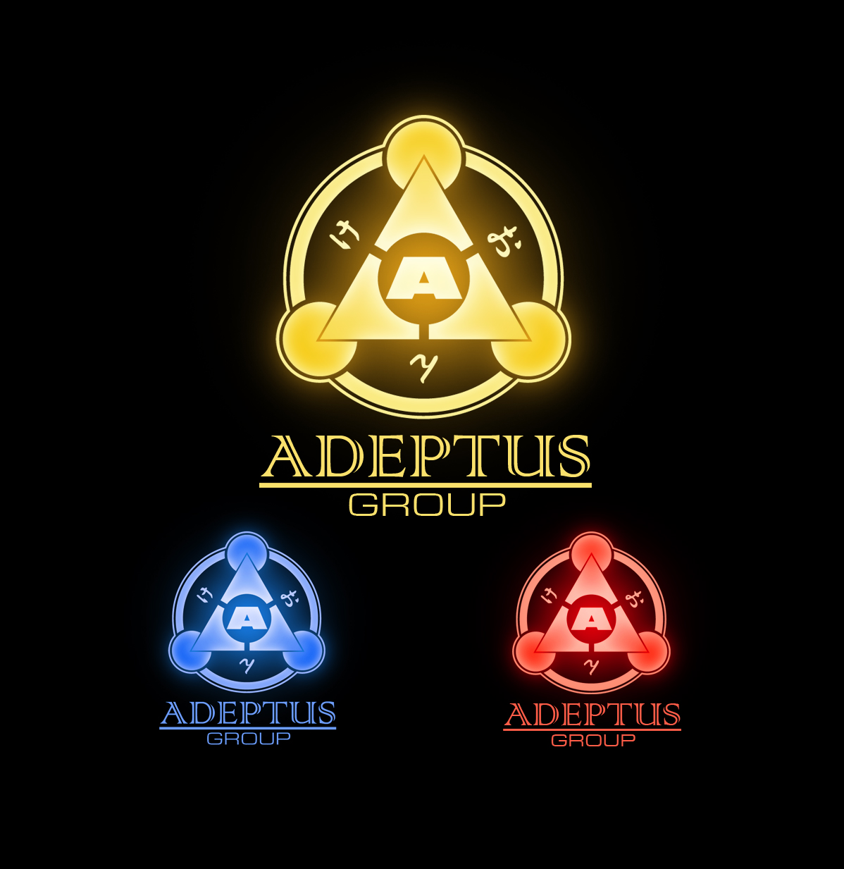 Logo Design by Mik El - Entry No. 30 in the Logo Design Contest New Logo Design for Adeptus Group.