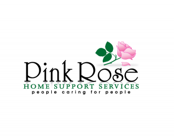 Logo Design by Gmars - Entry No. 150 in the Logo Design Contest Pink Rose Home Support Services.
