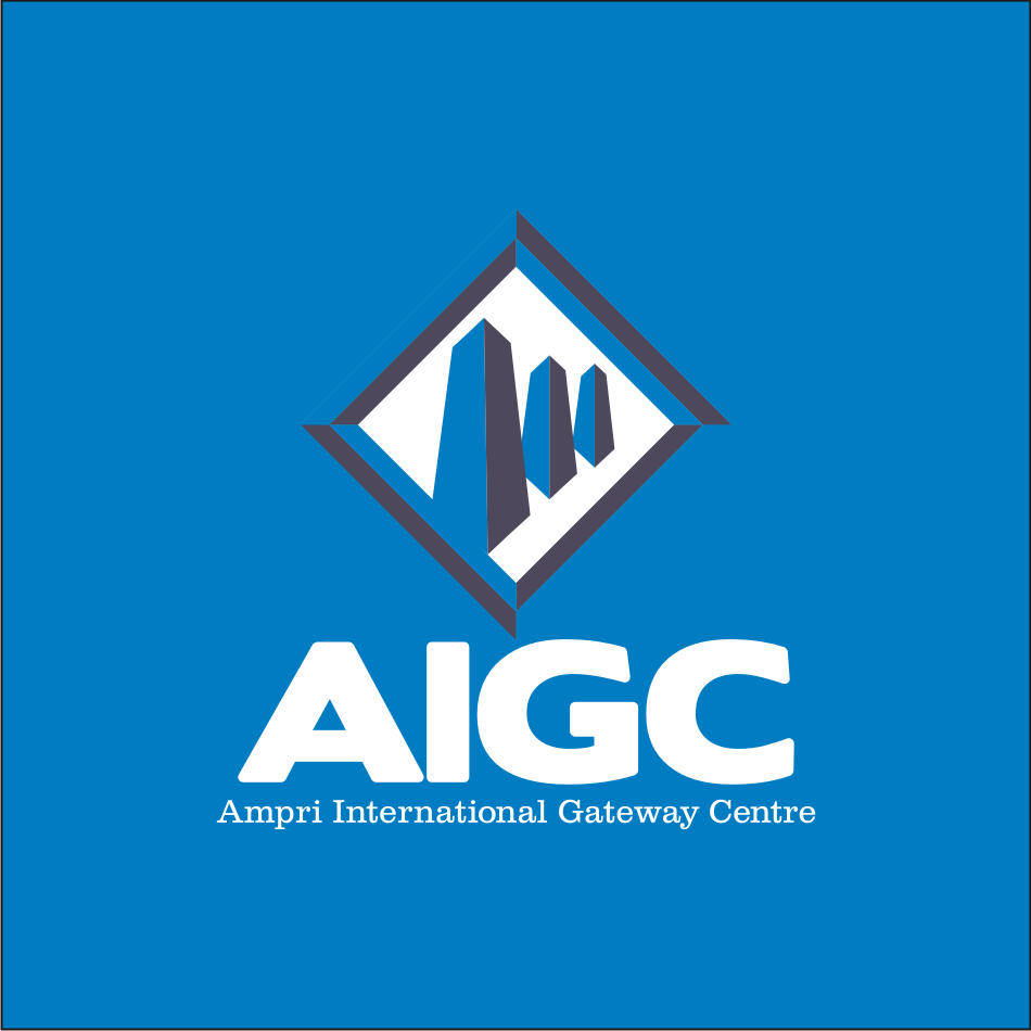 Logo Design by vector.five - Entry No. 110 in the Logo Design Contest Ampri International Gateway Centre (AIGC).