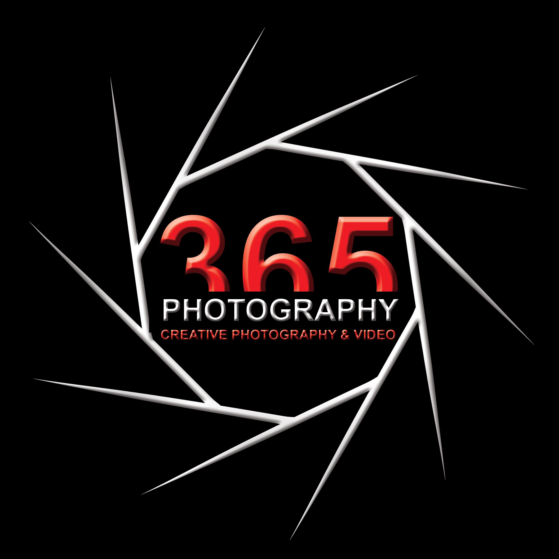 Logo Design by Kiavash Varnoos - Entry No. 40 in the Logo Design Contest 365photography Creative Photography & Video Logo Design.