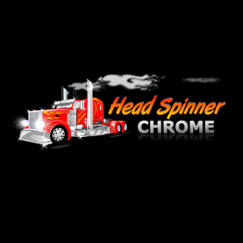 Logo Design by luwabu - Entry No. 32 in the Logo Design Contest Head Spinner Chrome.