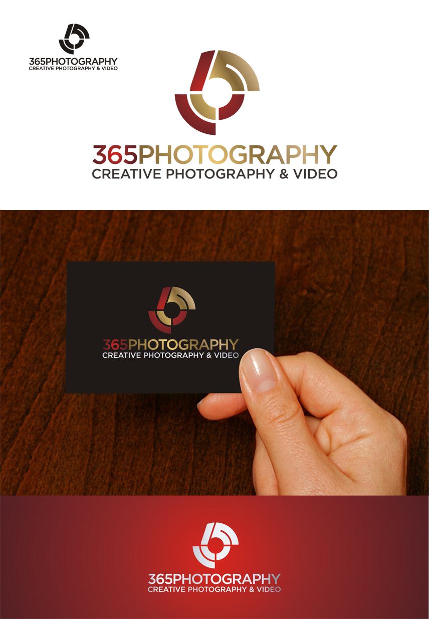 Logo Design by RasYa Muhammad Athaya - Entry No. 50 in the Logo Design Contest 365photography Creative Photography & Video Logo Design.
