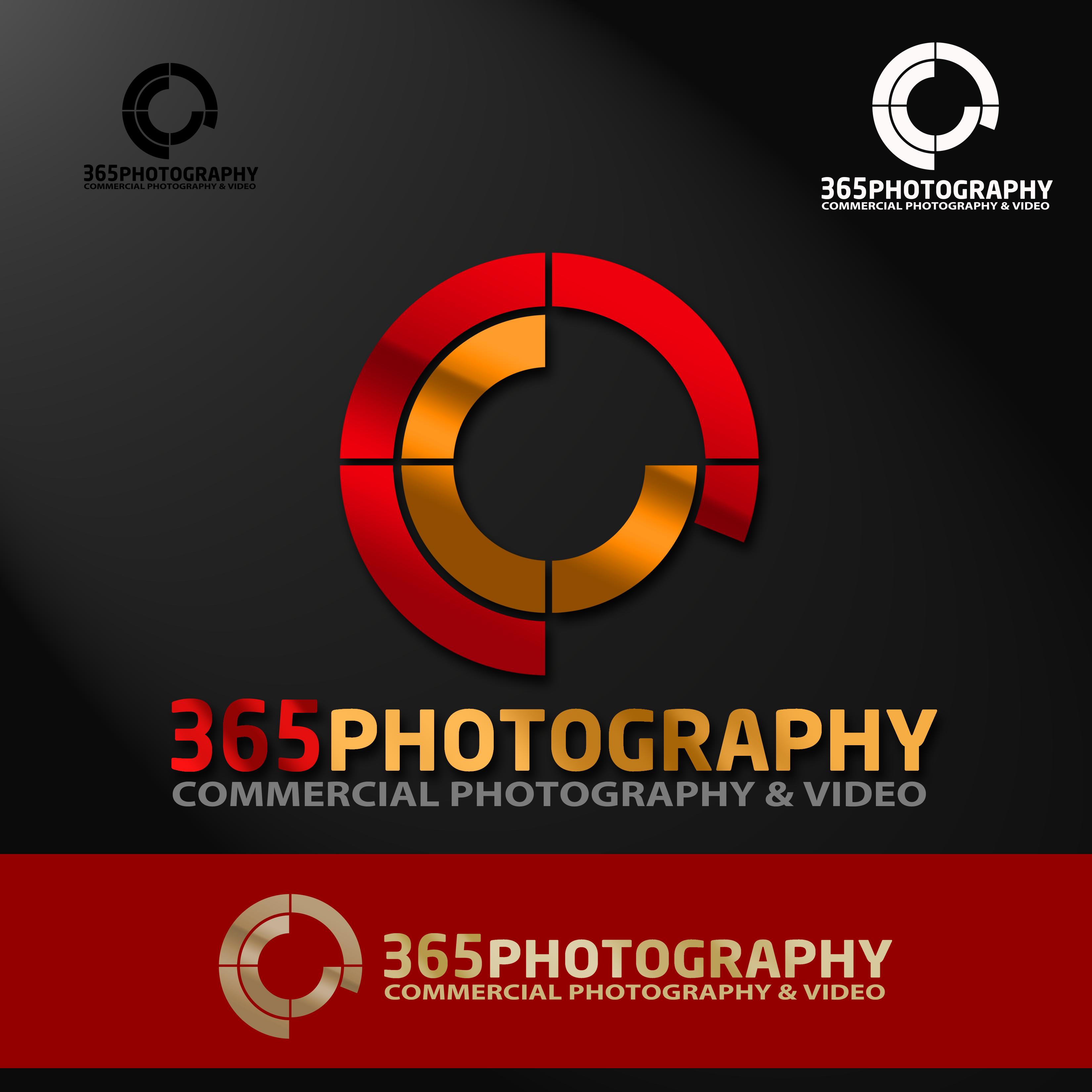 Logo Design by Allan Esclamado - Entry No. 54 in the Logo Design Contest 365photography Creative Photography & Video Logo Design.