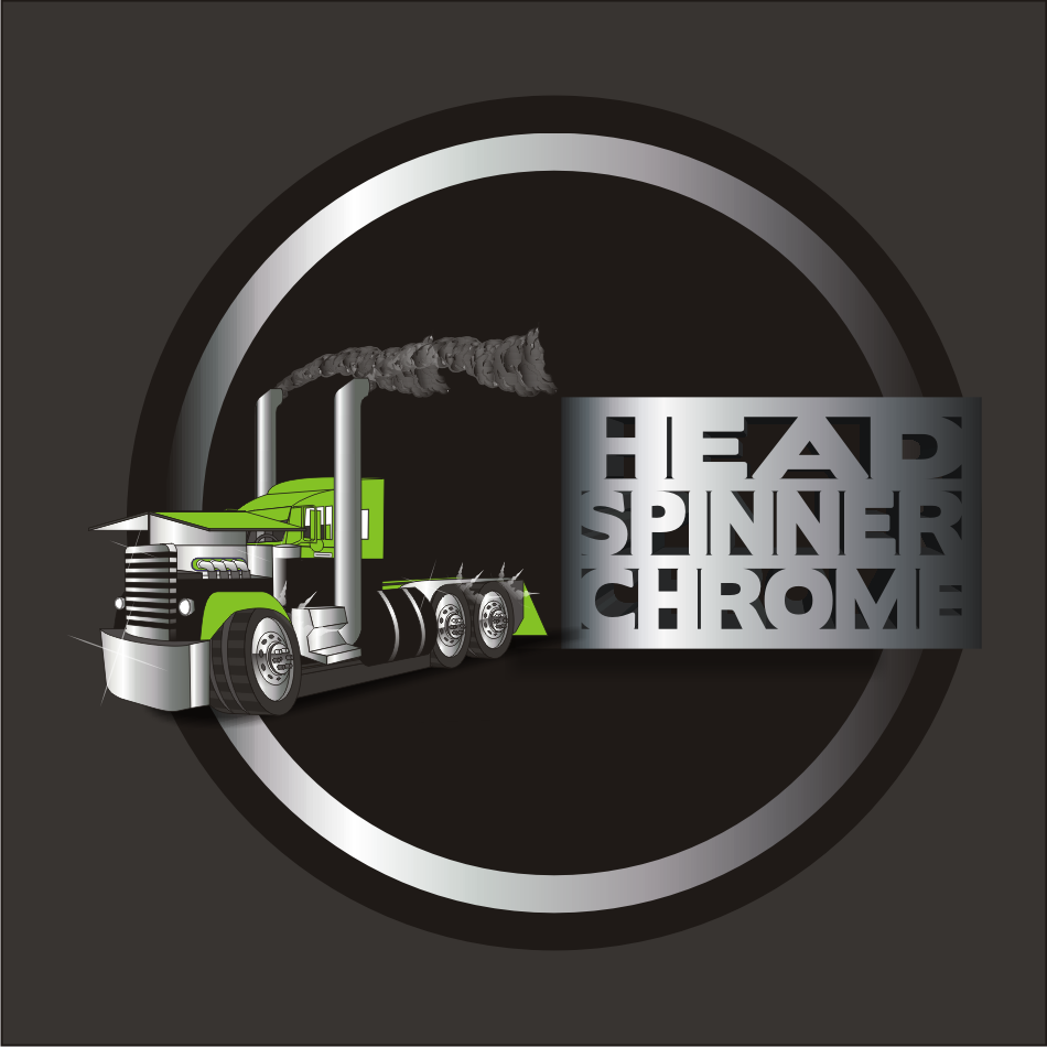 Logo Design by vector.five - Entry No. 36 in the Logo Design Contest Head Spinner Chrome.