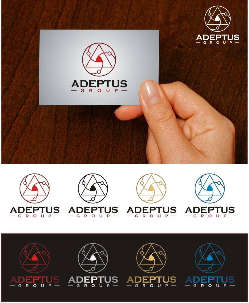 Logo Design by RasYa Muhammad Athaya - Entry No. 63 in the Logo Design Contest New Logo Design for Adeptus Group.