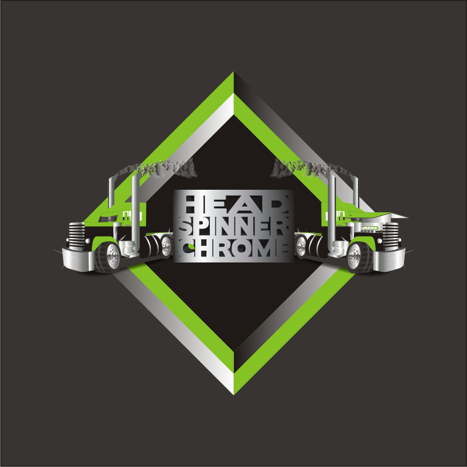 Logo Design by vector.five - Entry No. 40 in the Logo Design Contest Head Spinner Chrome.