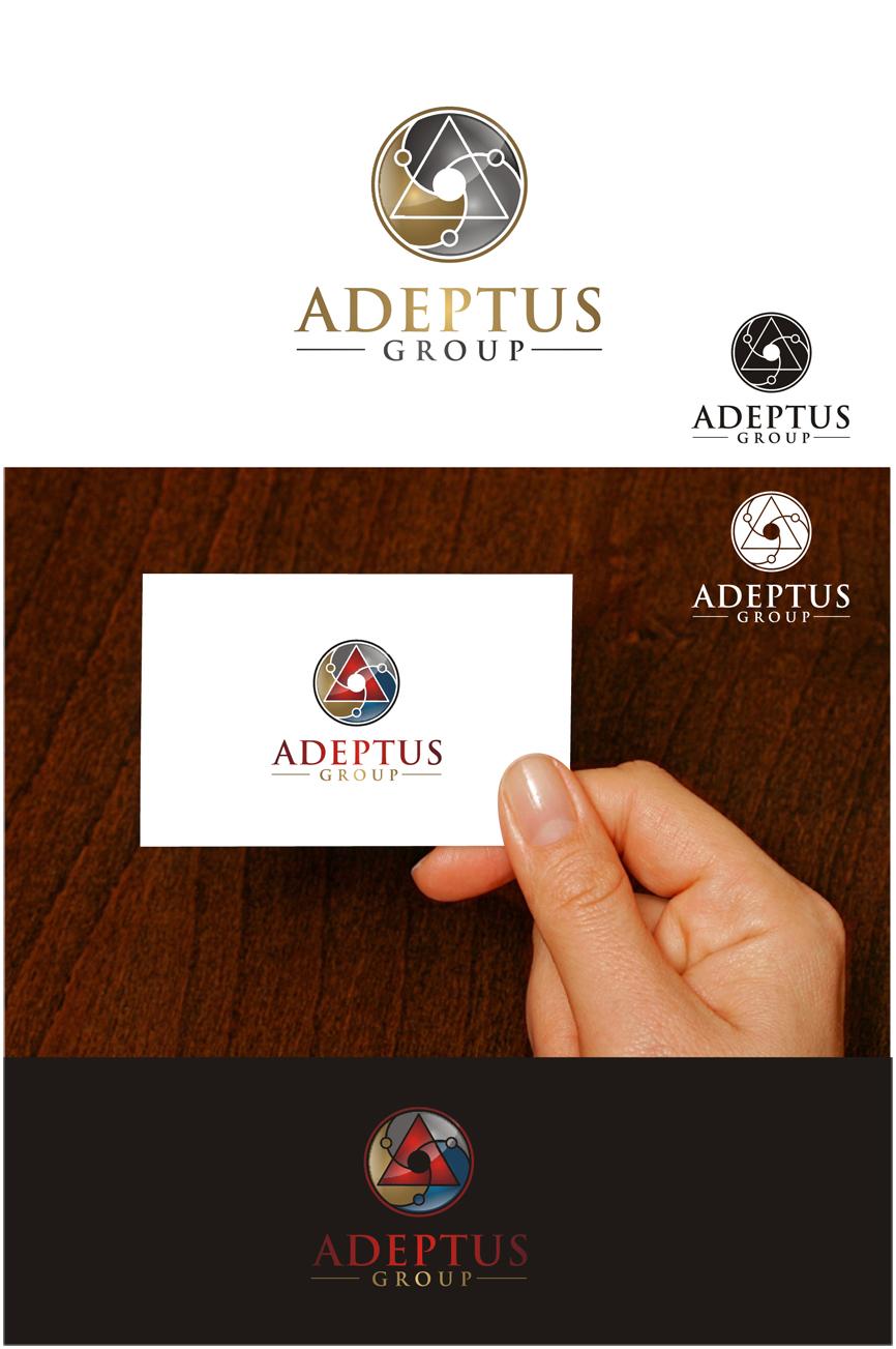 Logo Design by RasYa Muhammad Athaya - Entry No. 80 in the Logo Design Contest New Logo Design for Adeptus Group.