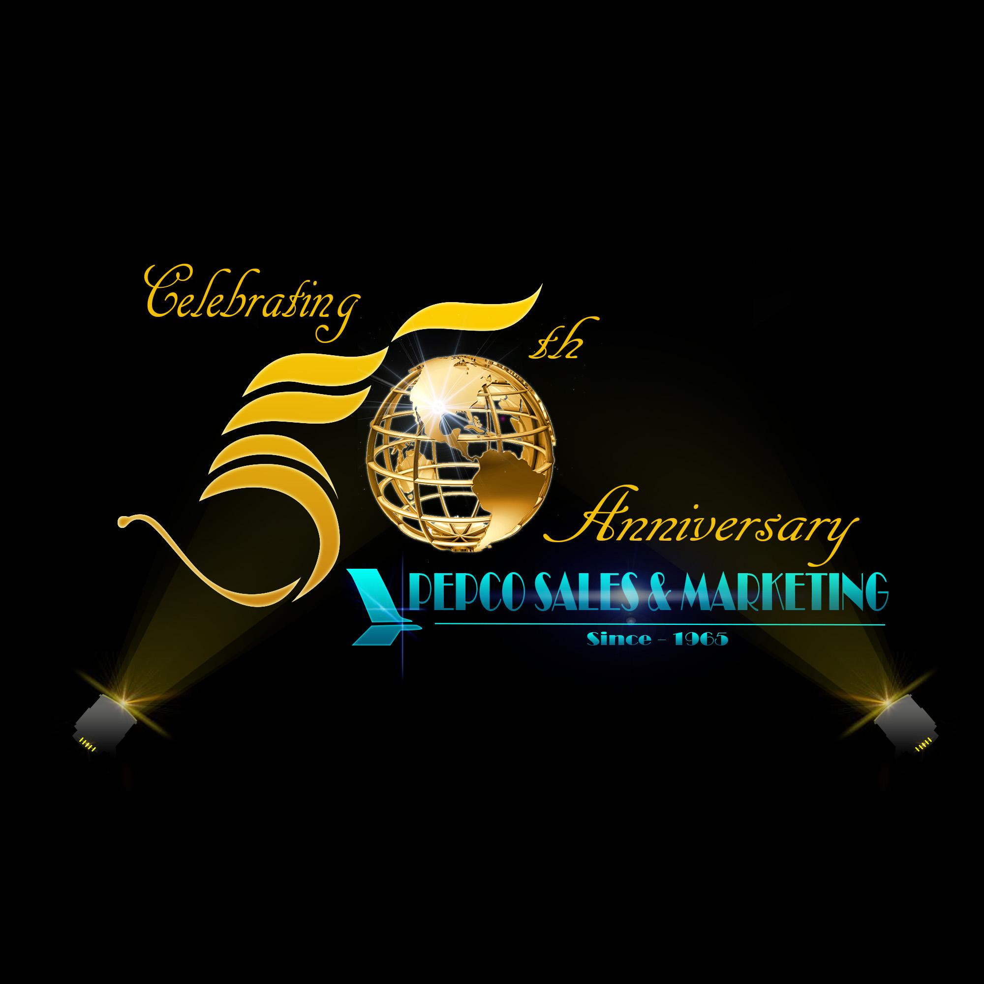 Logo Design by Elmar Mangadlao - Entry No. 12 in the Logo Design Contest 50th Anniversary Logo Design for Pepco Sales  & Marketing.