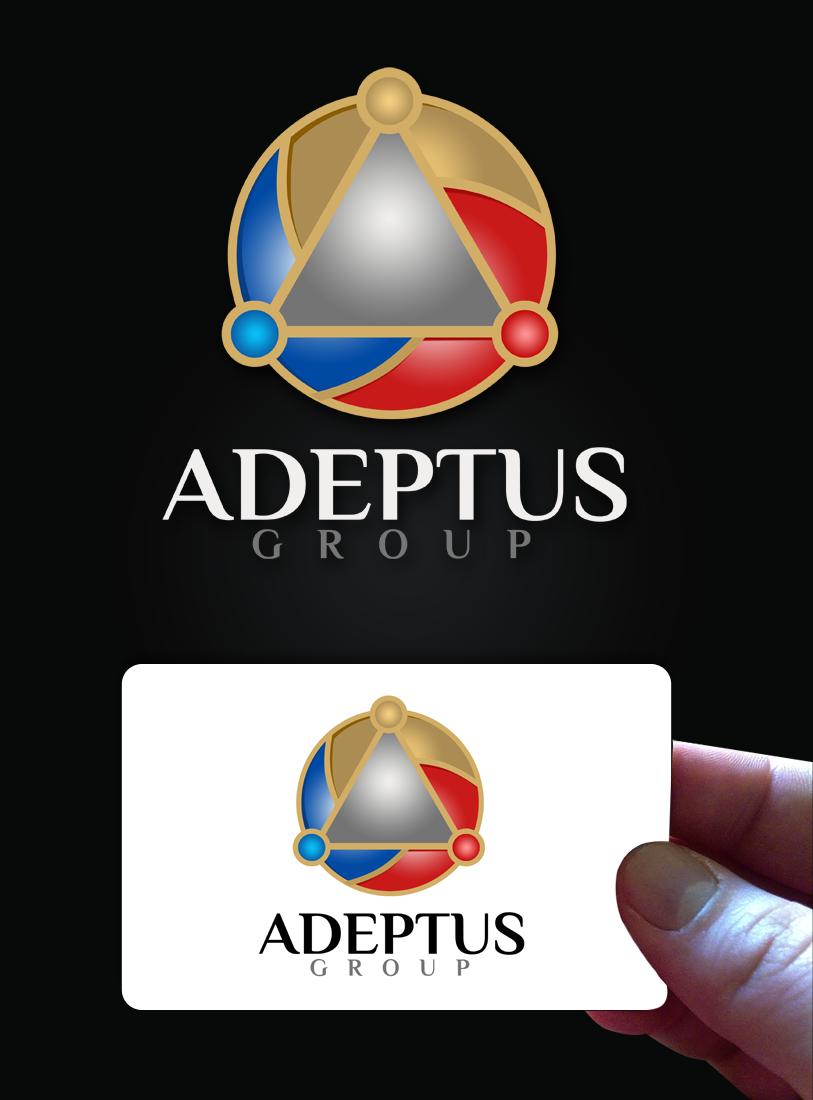 Logo Design by Robert Turla - Entry No. 100 in the Logo Design Contest New Logo Design for Adeptus Group.