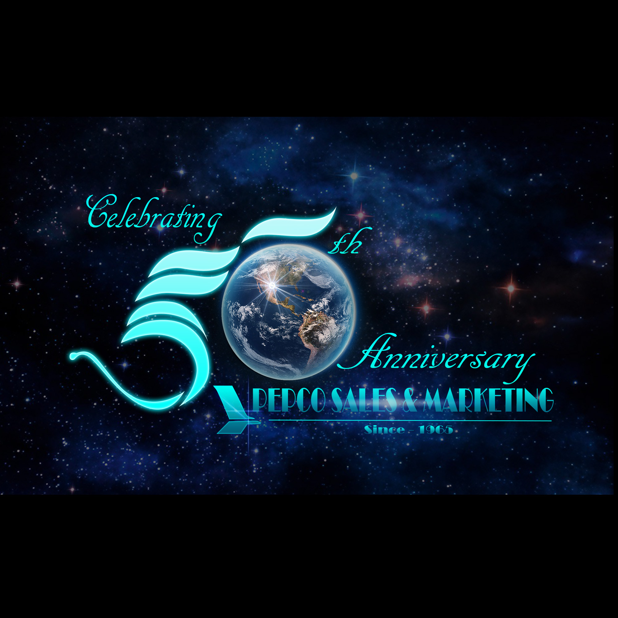 Logo Design by Elmar Mangadlao - Entry No. 13 in the Logo Design Contest 50th Anniversary Logo Design for Pepco Sales  & Marketing.