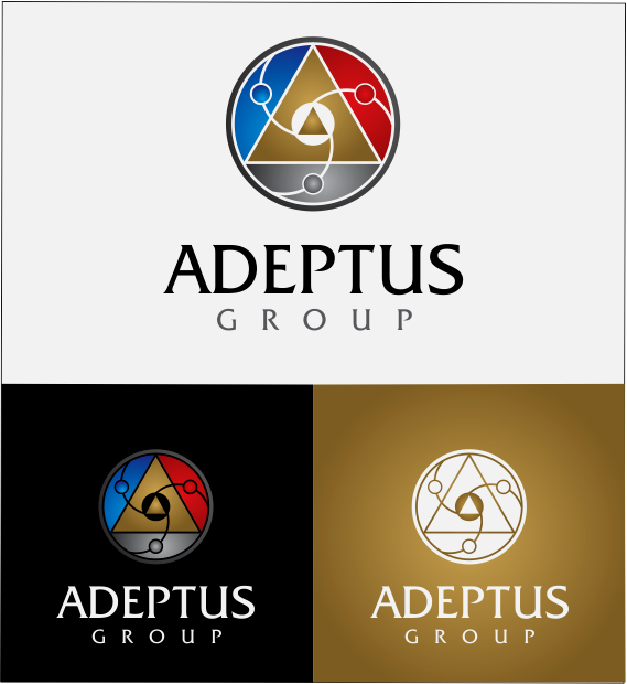 Logo Design by Armada Jamaluddin - Entry No. 103 in the Logo Design Contest New Logo Design for Adeptus Group.