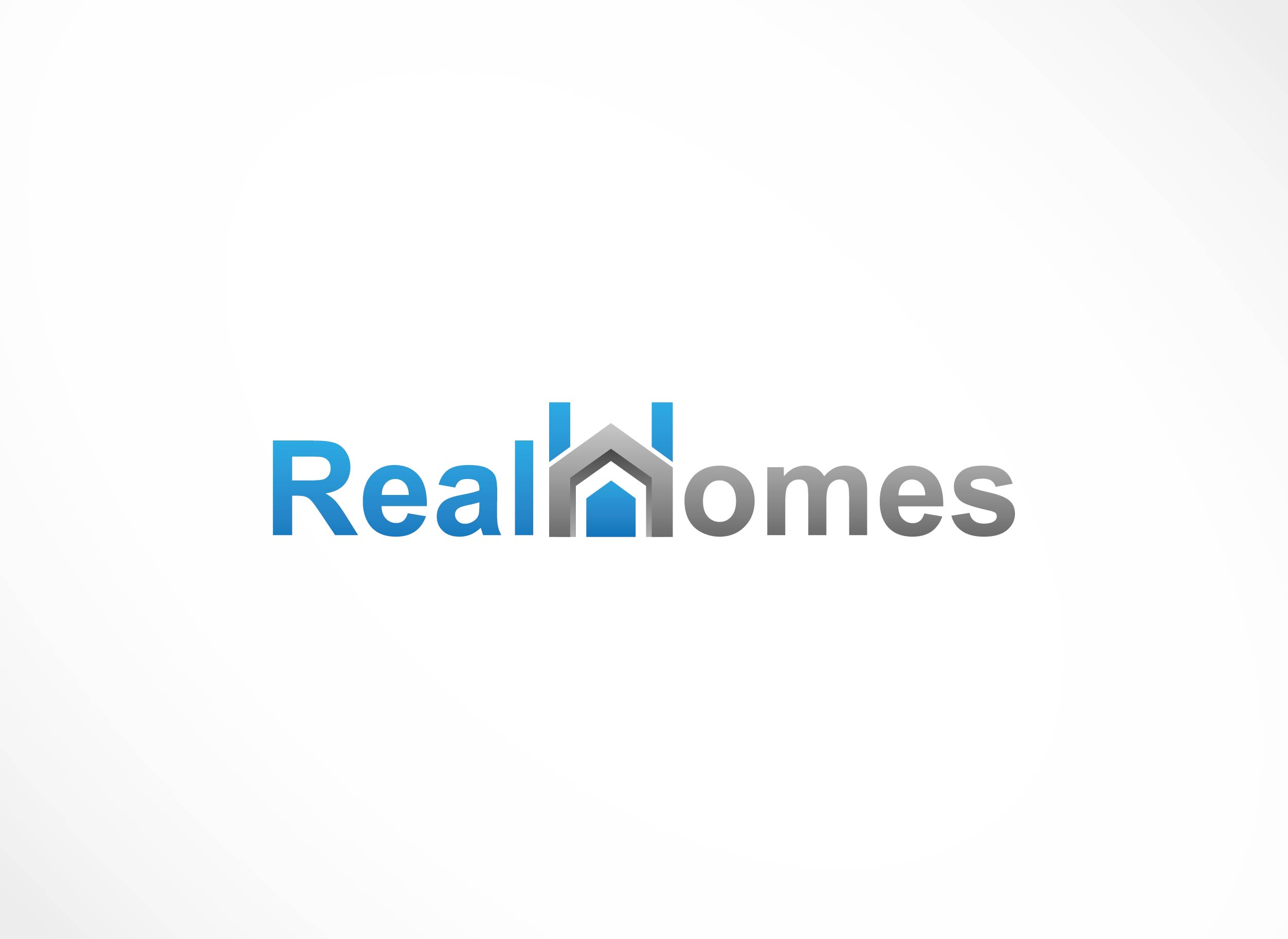 Logo Design by Adnan Taqi - Entry No. 20 in the Logo Design Contest Captivating Logo Design for Real Homes.