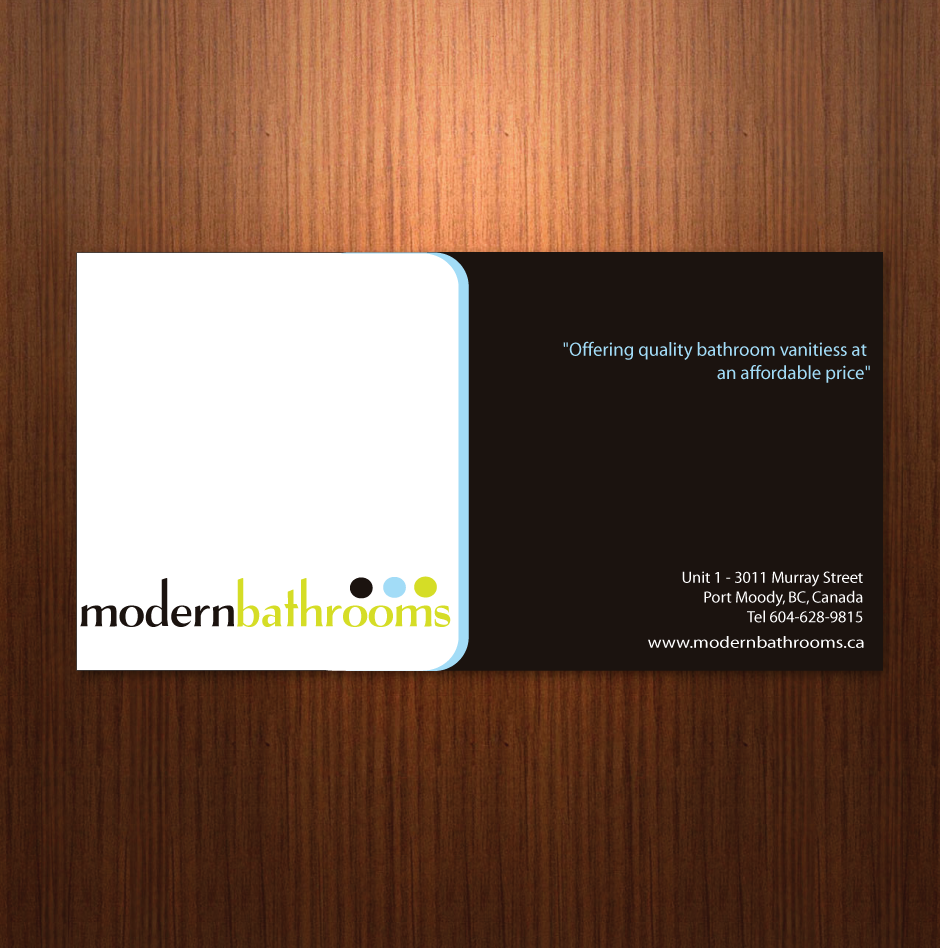 Home Design Business Part - 41: Business Card Design By Moonflower - Entry No. 23 In The Business Card  Design Contest