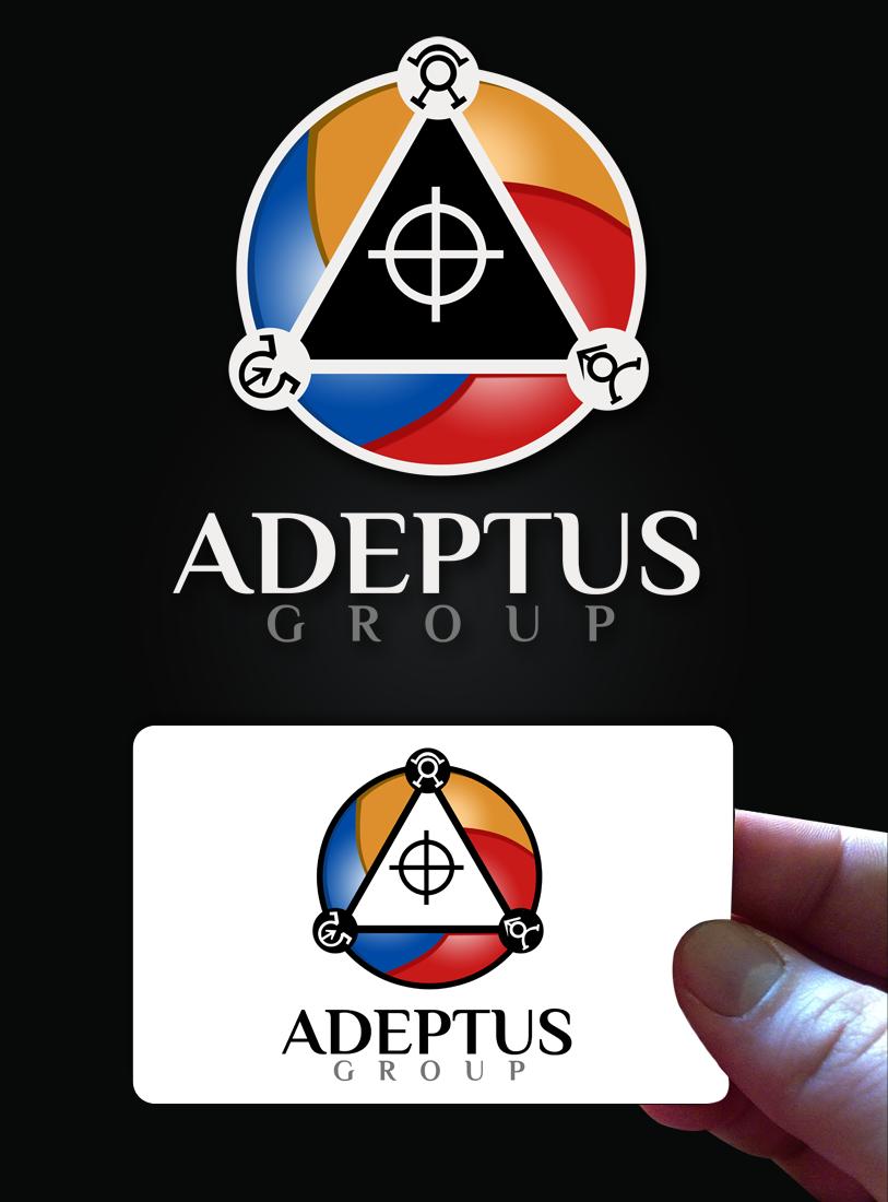 Logo Design by Robert Turla - Entry No. 106 in the Logo Design Contest New Logo Design for Adeptus Group.