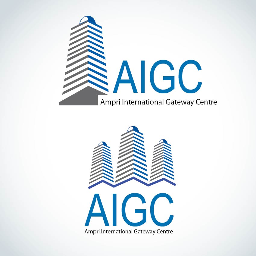 Logo Design by aesthetic-art - Entry No. 128 in the Logo Design Contest Ampri International Gateway Centre (AIGC).