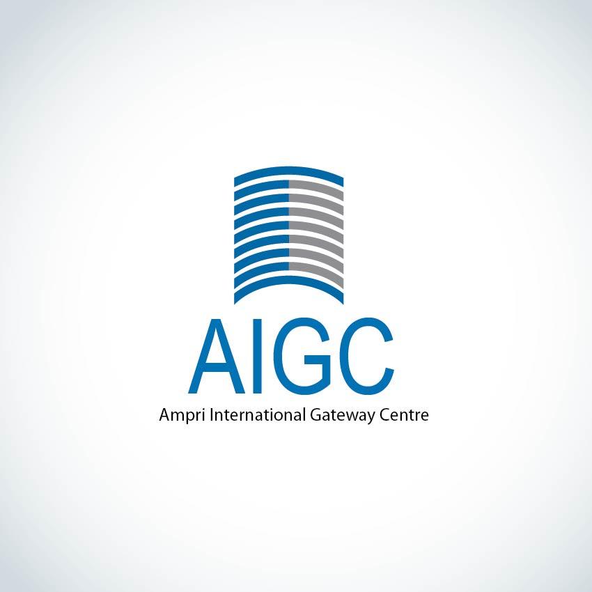 Logo Design by aesthetic-art - Entry No. 129 in the Logo Design Contest Ampri International Gateway Centre (AIGC).