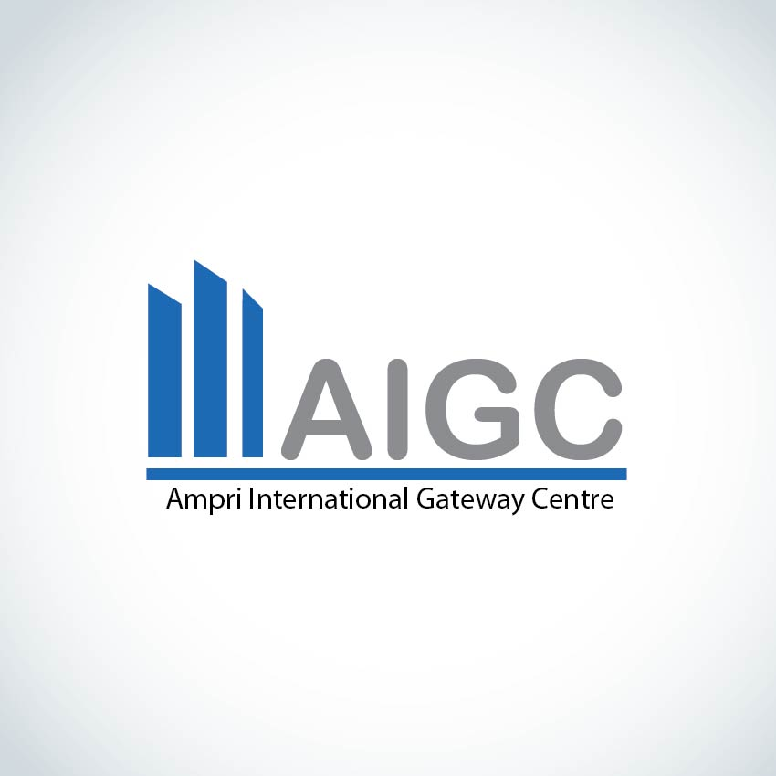 Logo Design by aesthetic-art - Entry No. 131 in the Logo Design Contest Ampri International Gateway Centre (AIGC).