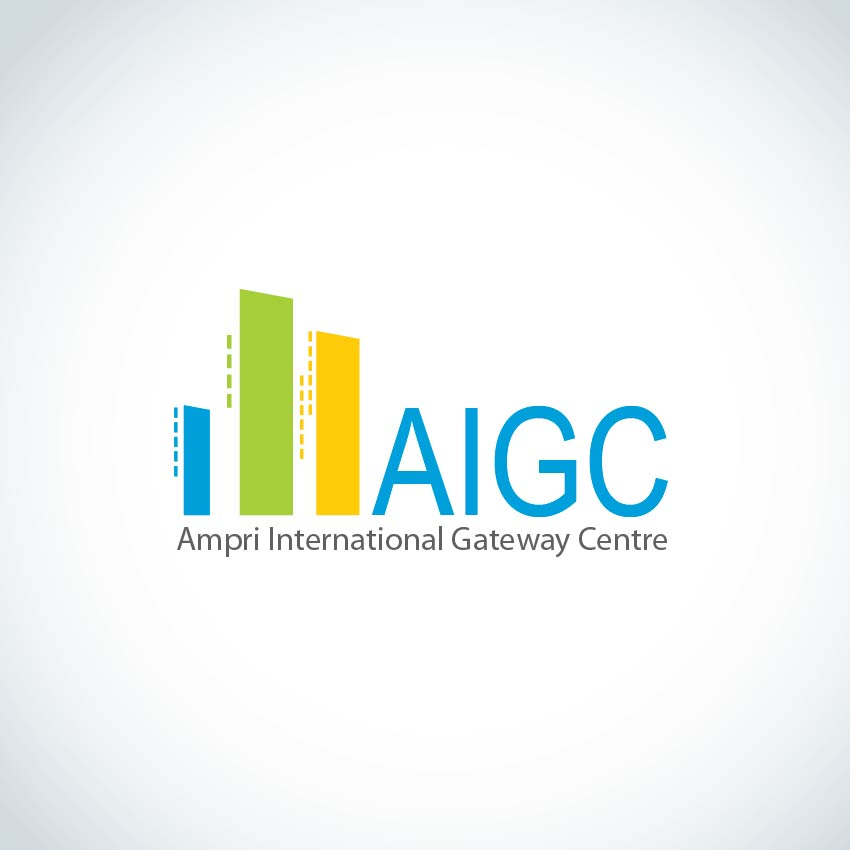 Logo Design by aesthetic-art - Entry No. 132 in the Logo Design Contest Ampri International Gateway Centre (AIGC).