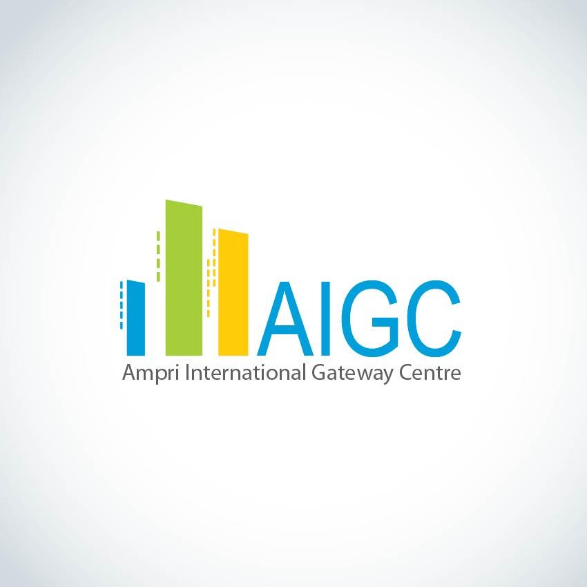 Logo Design by aesthetic-art - Entry No. 132 in the Logo Design Contest Ampri International Gateway Centre (AIGC).