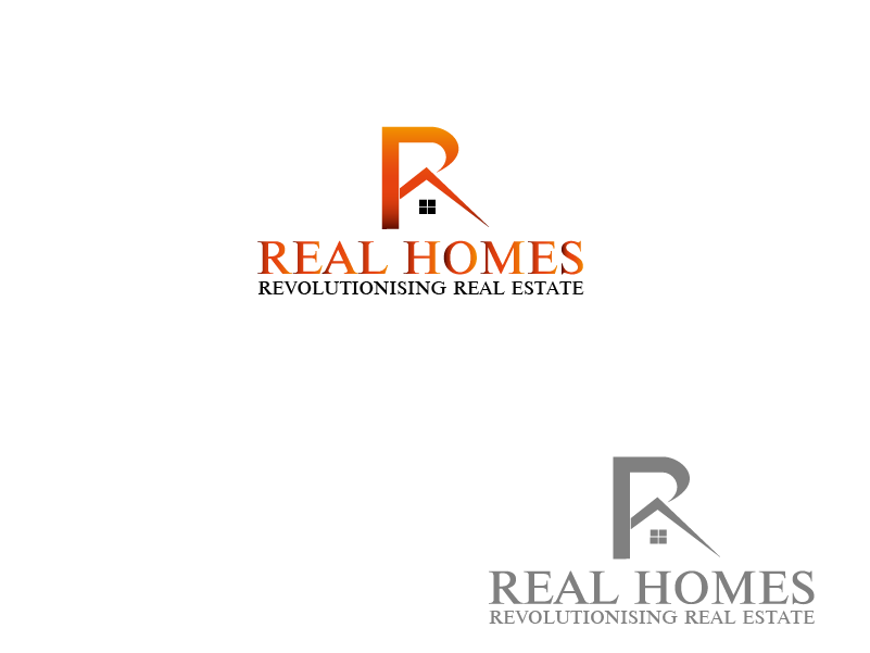 Logo Design by Private User - Entry No. 44 in the Logo Design Contest Captivating Logo Design for Real Homes.