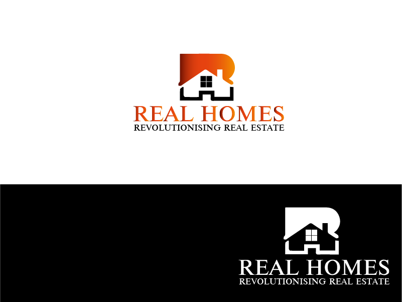 Logo Design by Private User - Entry No. 48 in the Logo Design Contest Captivating Logo Design for Real Homes.
