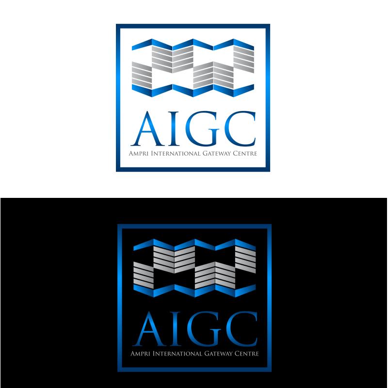 Logo Design by zams - Entry No. 133 in the Logo Design Contest Ampri International Gateway Centre (AIGC).