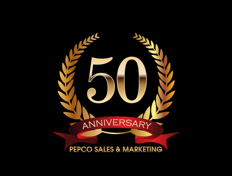 Logo Design by brands_in - Entry No. 32 in the Logo Design Contest 50th Anniversary Logo Design for Pepco Sales  & Marketing.