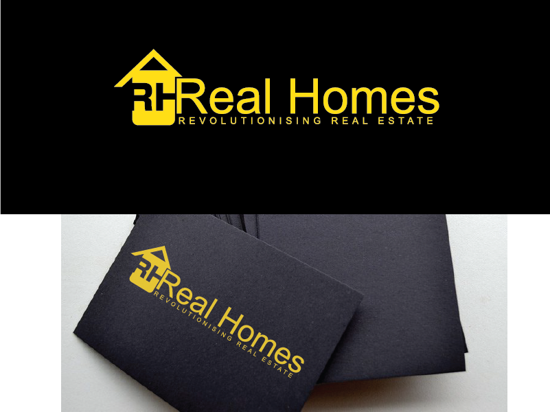 Logo Design by Cedrick Englis - Entry No. 57 in the Logo Design Contest Captivating Logo Design for Real Homes.