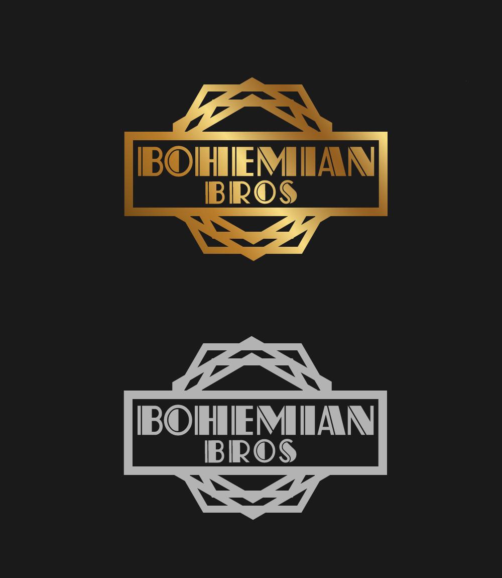 Logo Design by rockin - Entry No. 43 in the Logo Design Contest Creative Logo Design for Bohemian Bros.