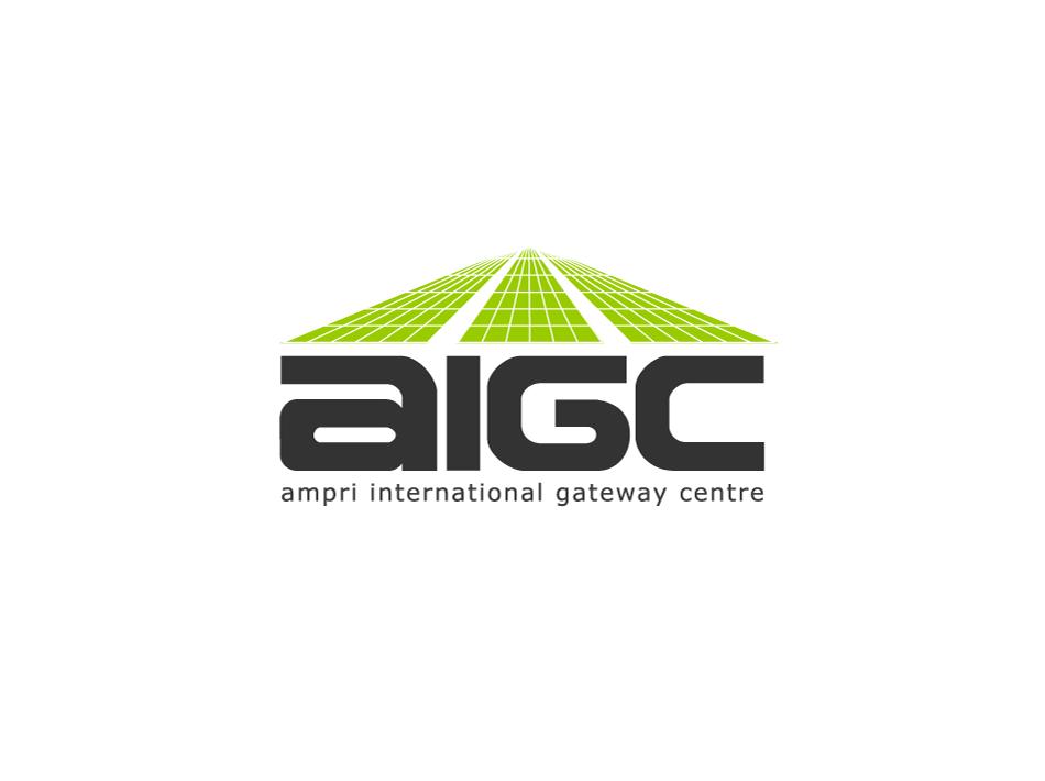 Logo Design by umxca - Entry No. 139 in the Logo Design Contest Ampri International Gateway Centre (AIGC).